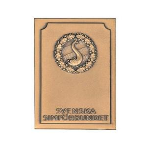 Påbyggnadsplakett brons
