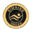 Motionsmärke 1000 km