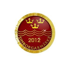 Simborgarmärke 2012
