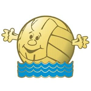 Vattenpolobollen guld