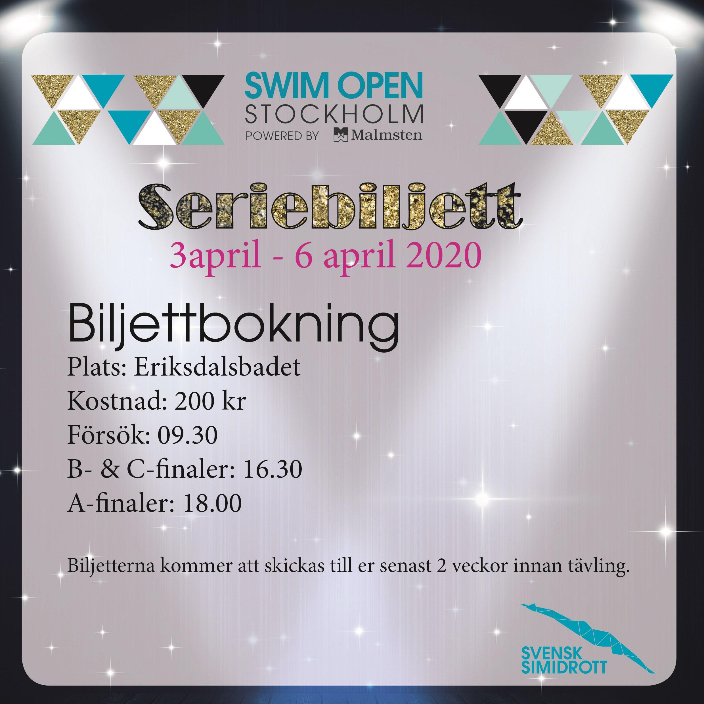 Seriebiljett 3-6/4 2020