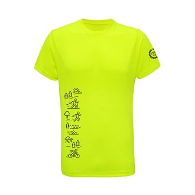 Funktions t-shirt Herr