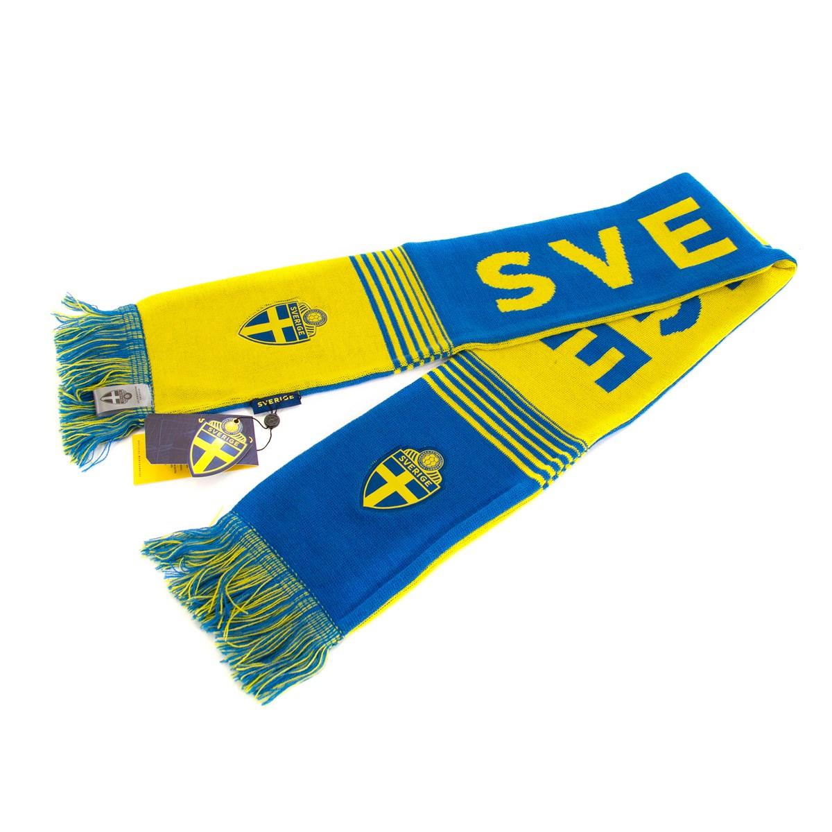Halsduk Sverige Gul & Blå