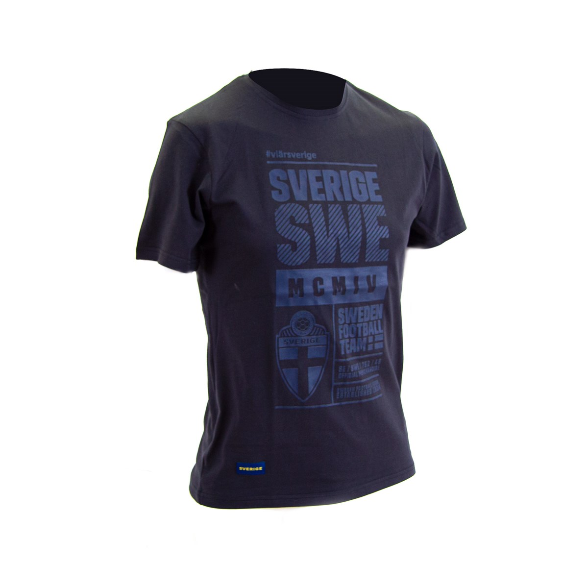 T-Shirt Mörk marin