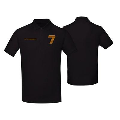Polo Shirt (Pique) Black