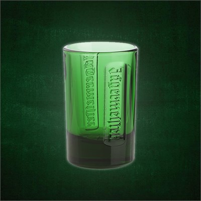 Shot Glass 2cl green 6-pack